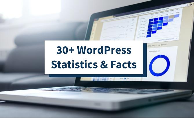 30+ WordPress Statistics & Facts
