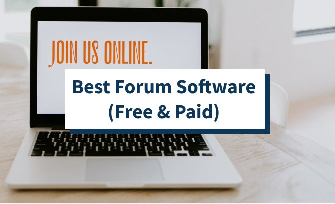 Best Forum Software (Free & Paid)