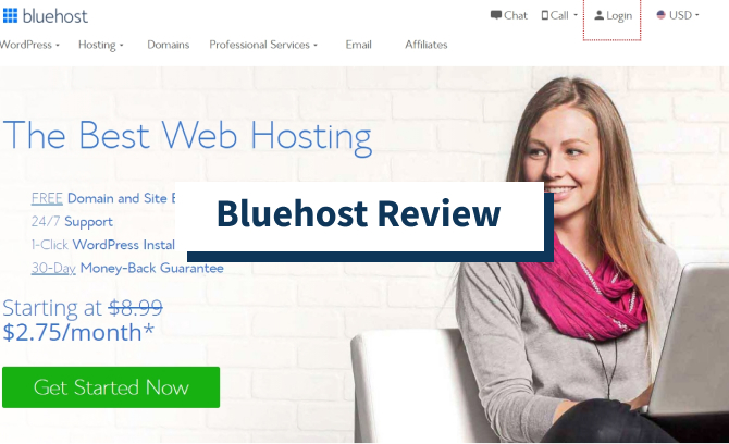 Bluehost Review january 2021