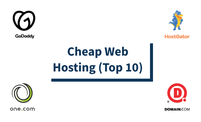 Cheap Web Hosting (Top 10)