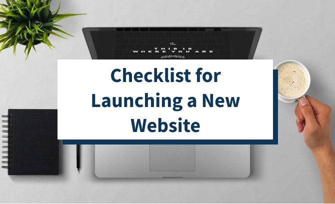 Checklist for Launching a New Website