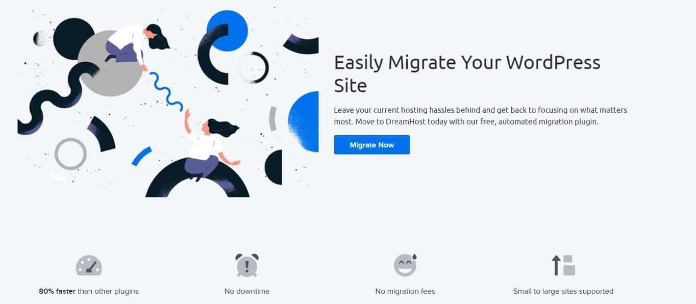 DreamHost site migration