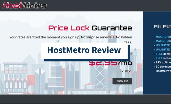 HostMetro Review