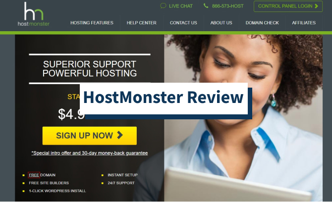 HostMonster Review