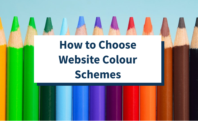 How to Choose Website Colour Schemes