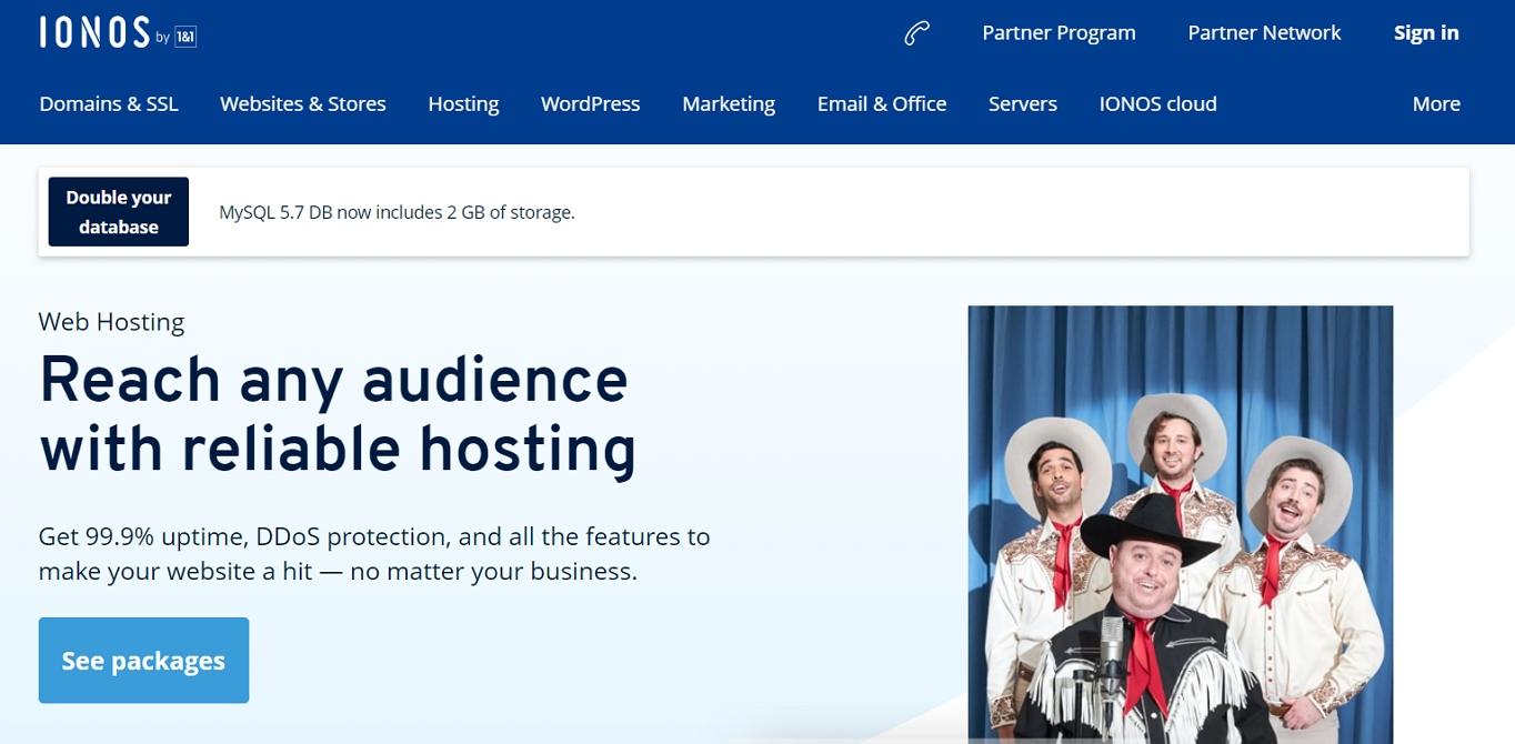 IONOS hosting review