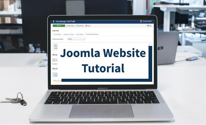 Joomla Website Tutorial