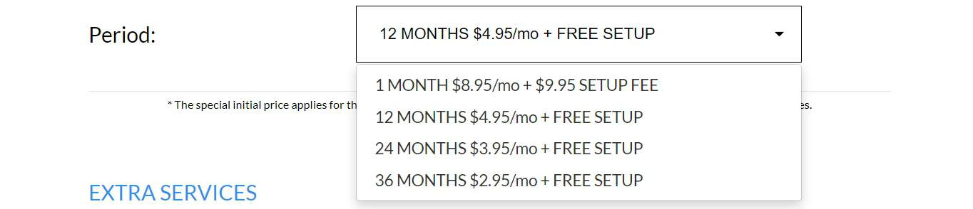 TMDHosting price breakdown