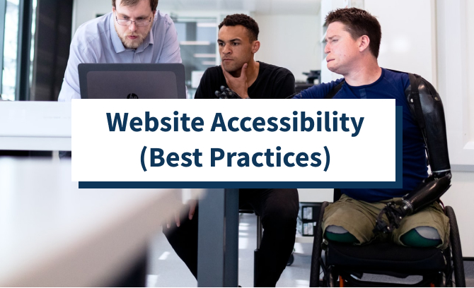 Website Accessibility (Best Practices)