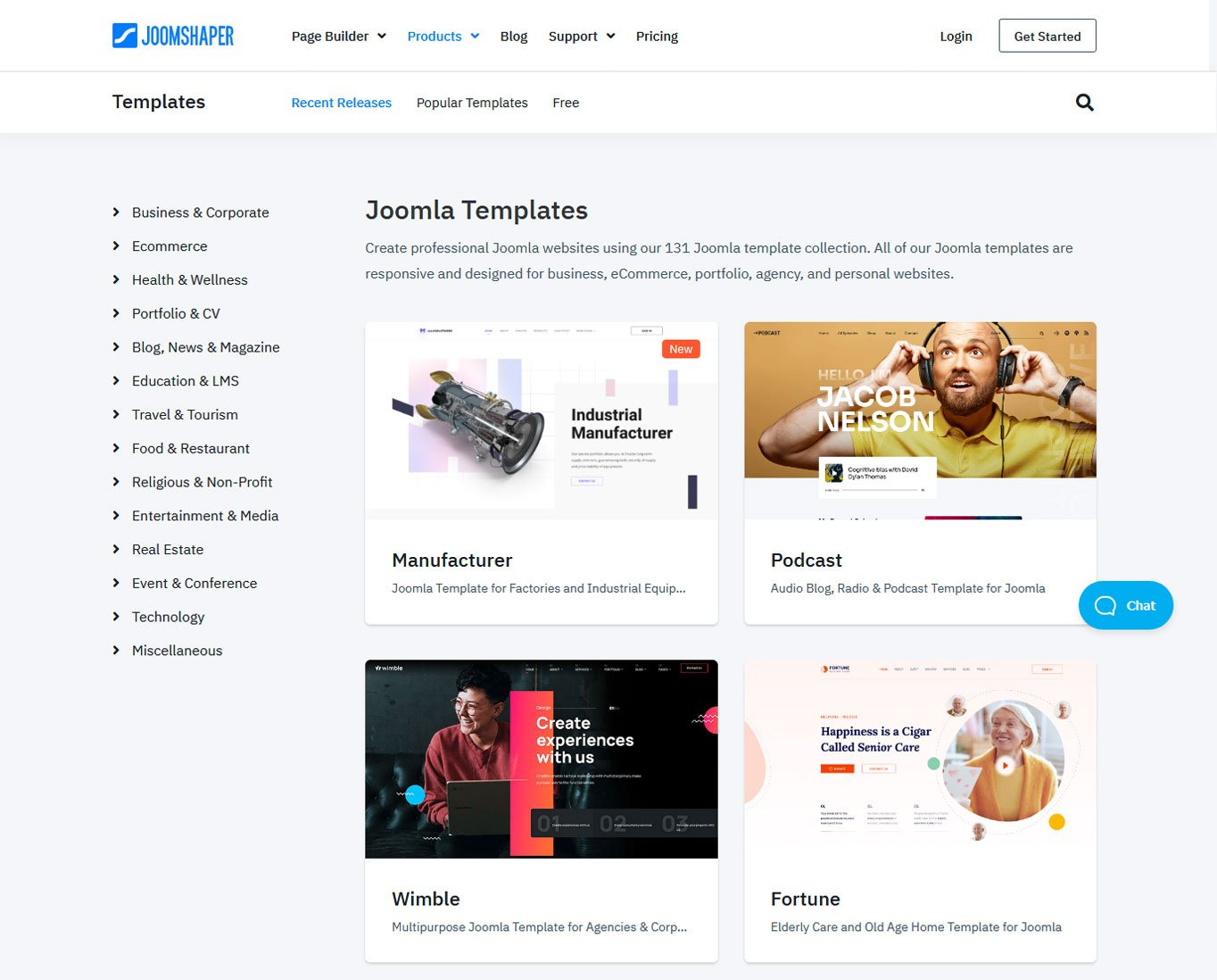 how to use joomla find templates