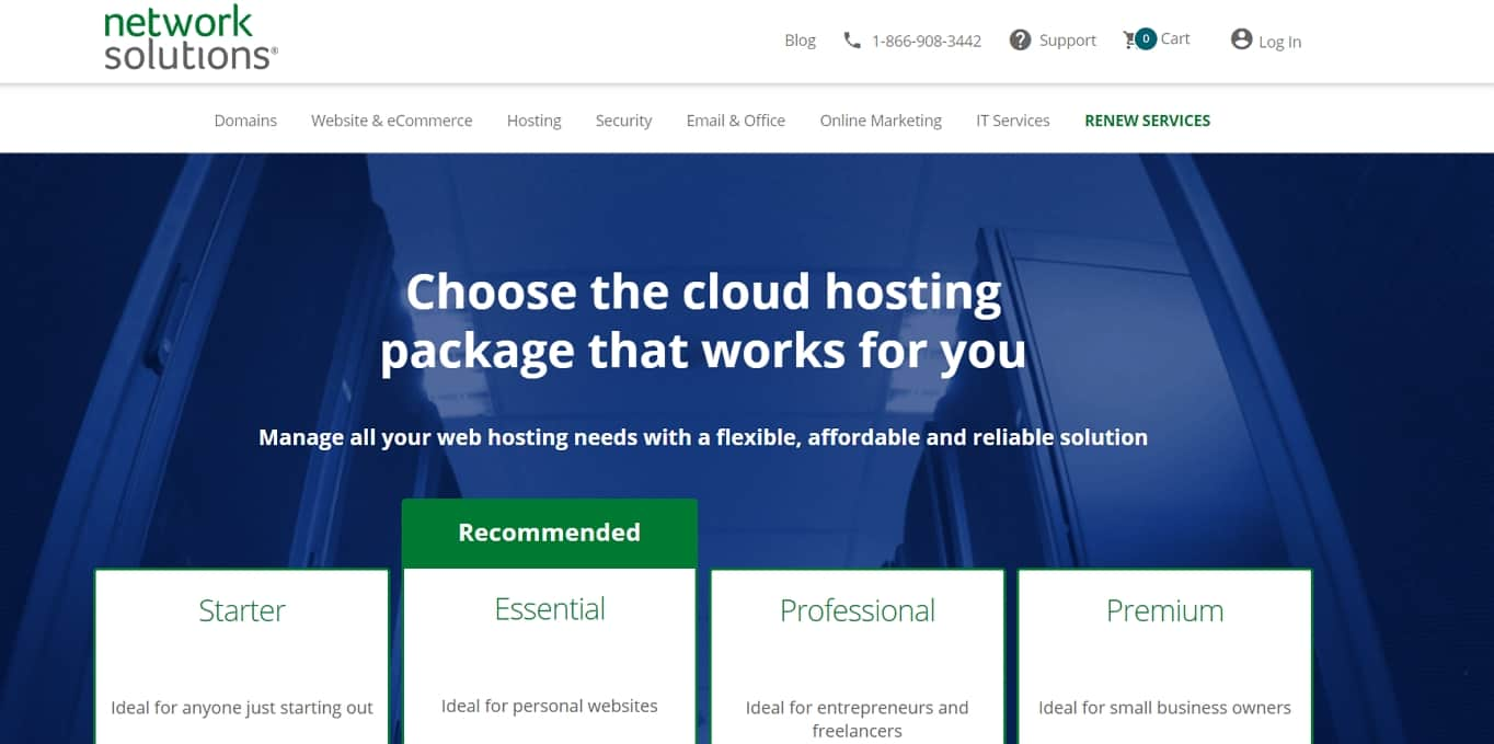 Network Solutions hosting review