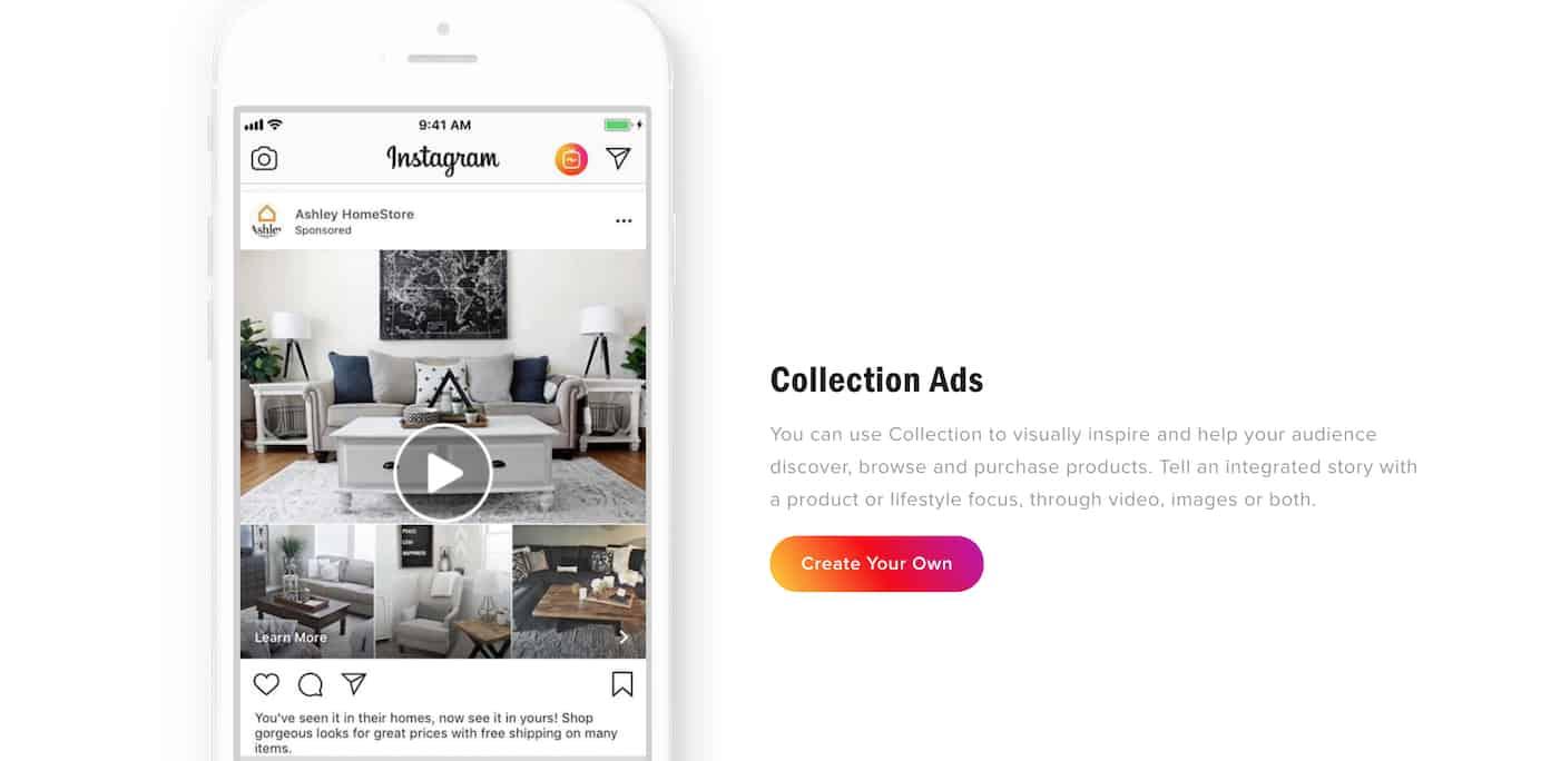 Instagram ad platform