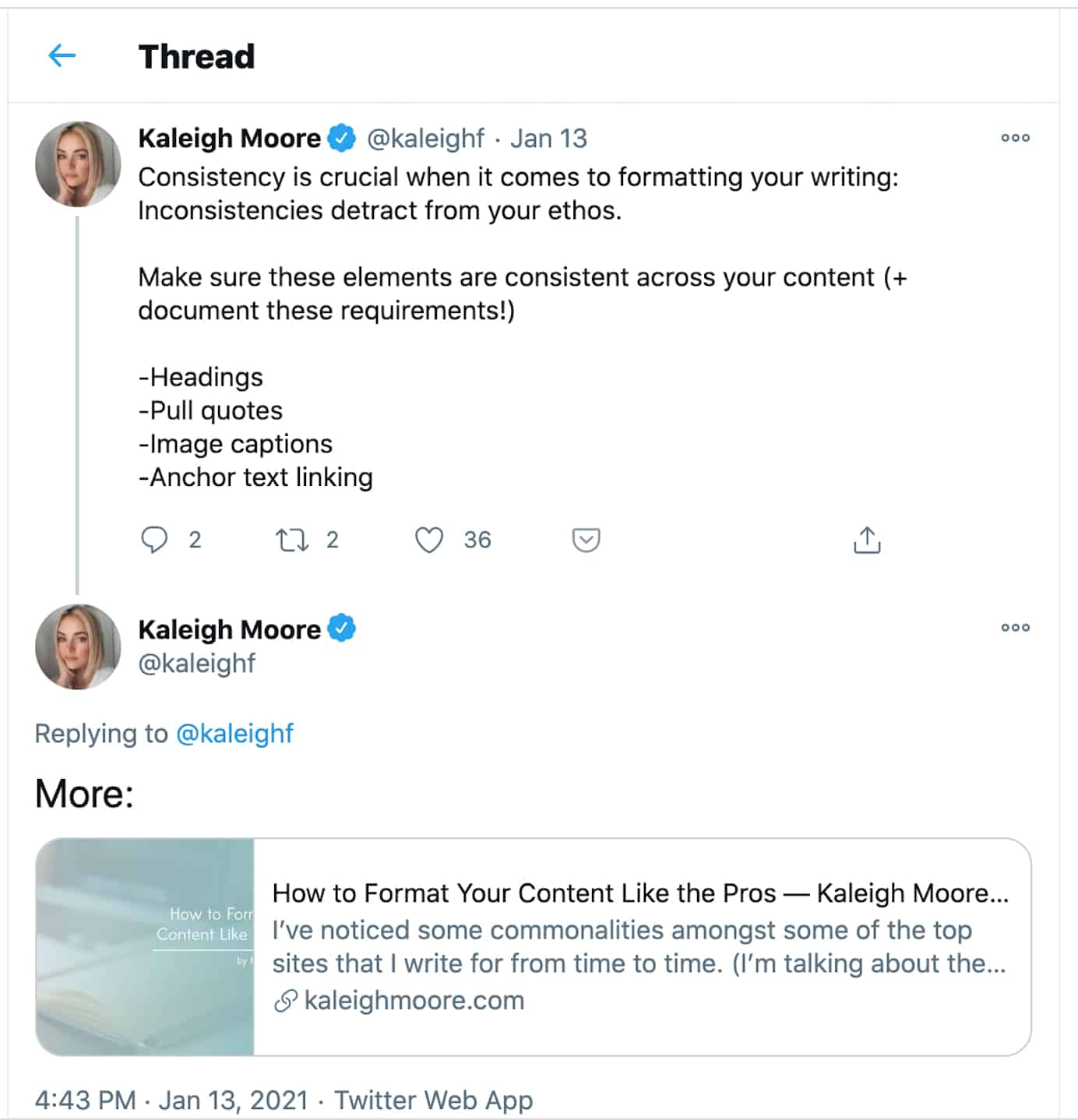 Twitter thread example