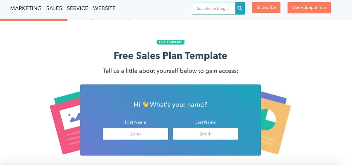 HubSpot ultimate guide to creating a sales plan