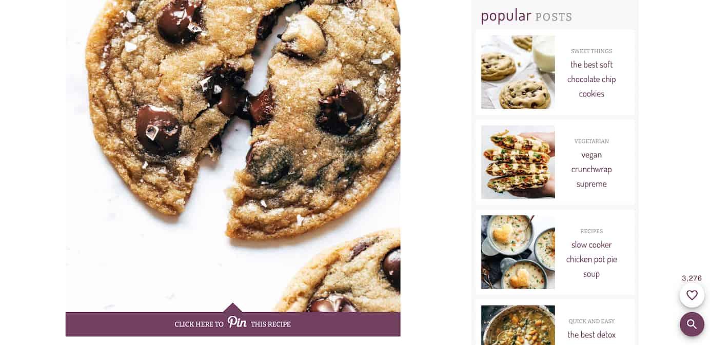 Pinch of yum chocolate cookie recipe