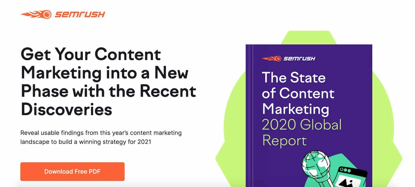 The state of content marketing report