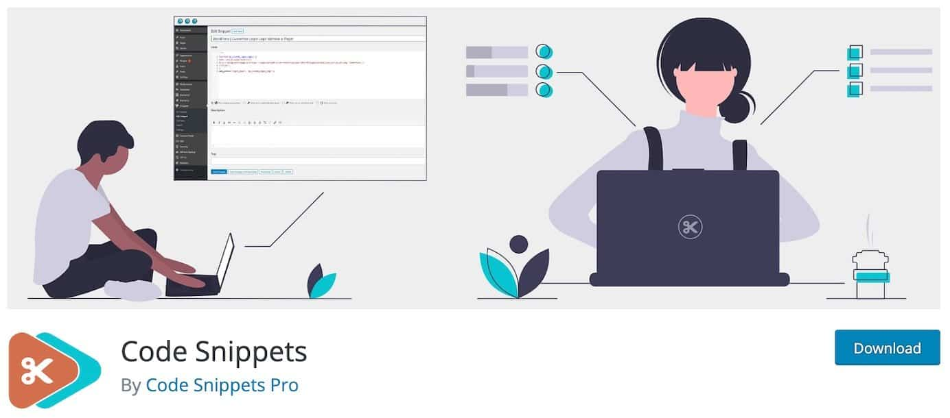 WordPress plugins for snippets: Code Snippets