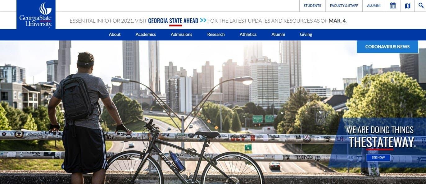 website example georgia state university