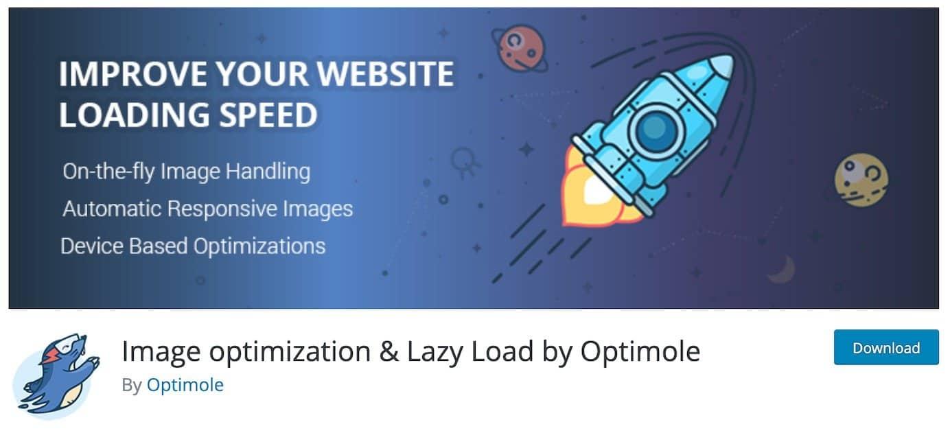 WordPress plugins for image optimization: Optimole