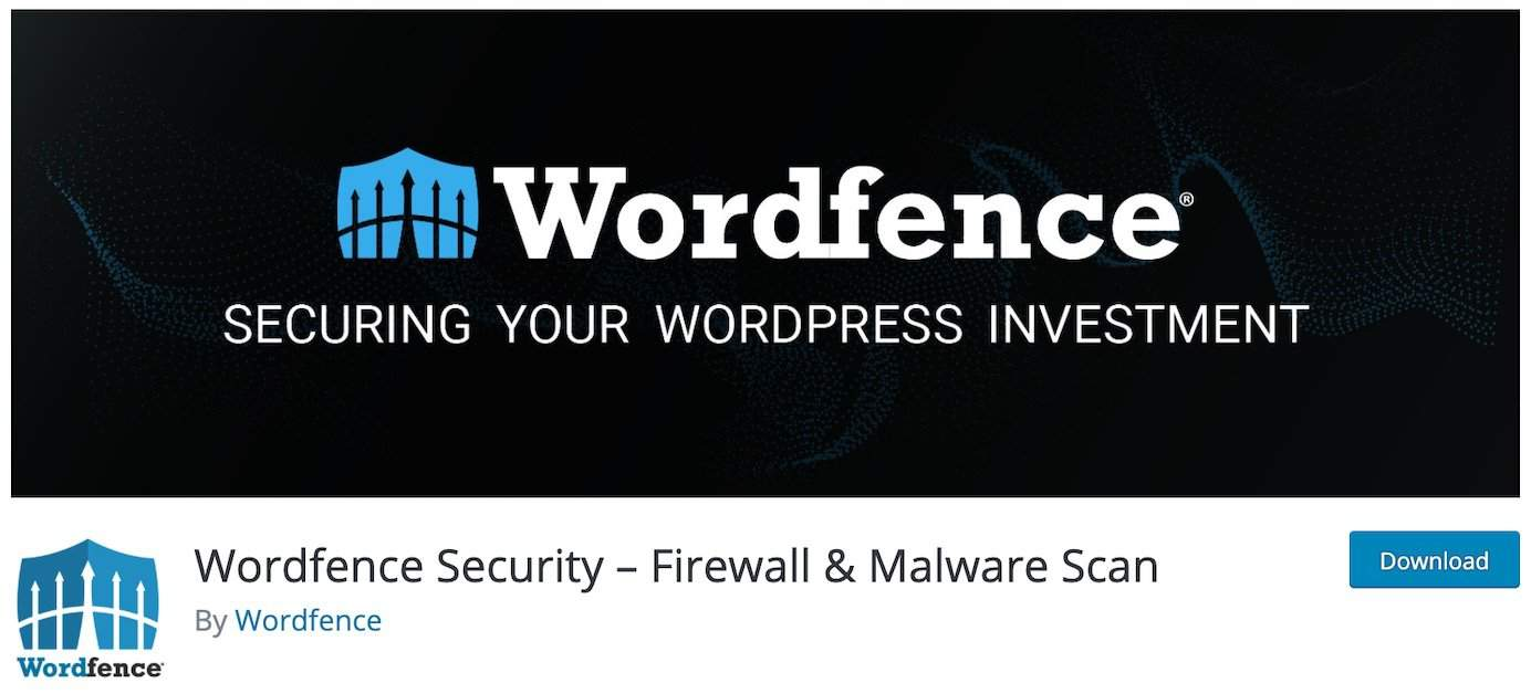 WordPress plugins for security: Wordfence
