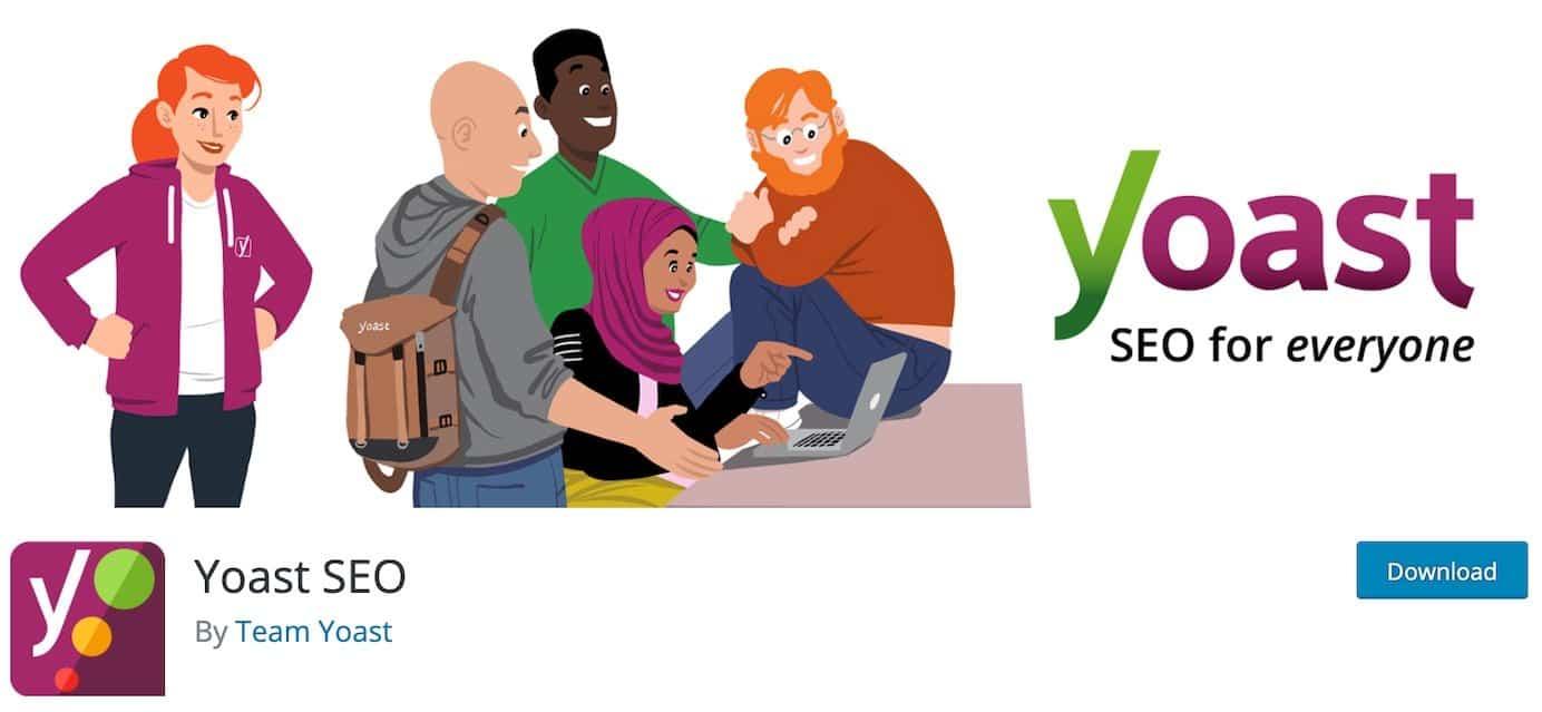 WordPress plugins for SEO: Yoast SEO