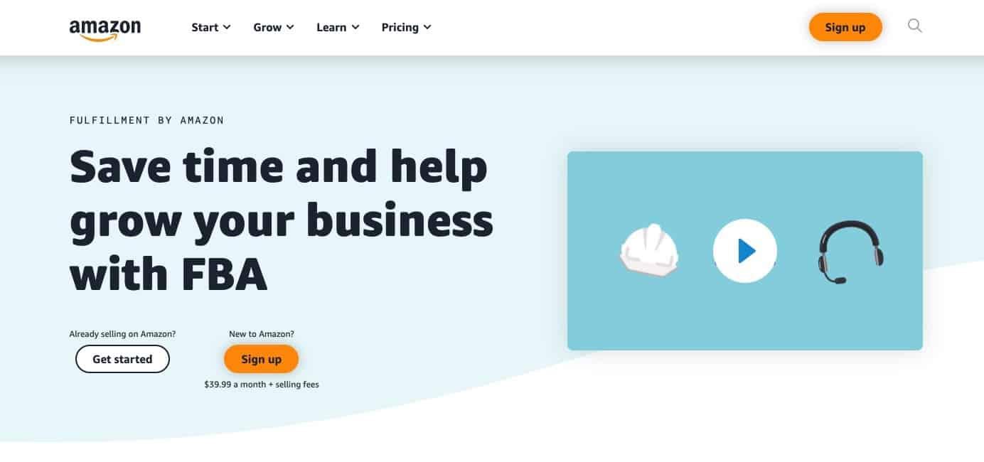 Amazon FBA - among the best side business ideas