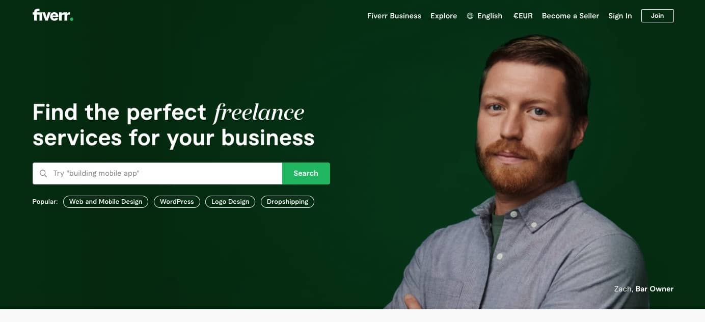 fiverr - your place for side income