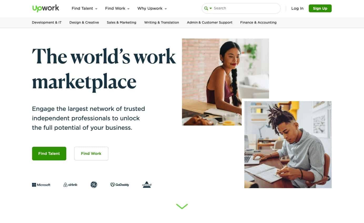 upwork - freelance jobs