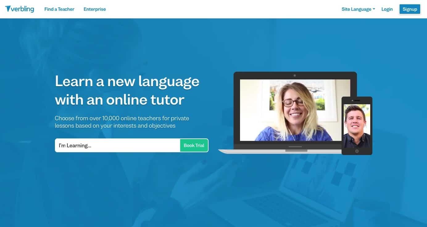 verbling - do online tutoring