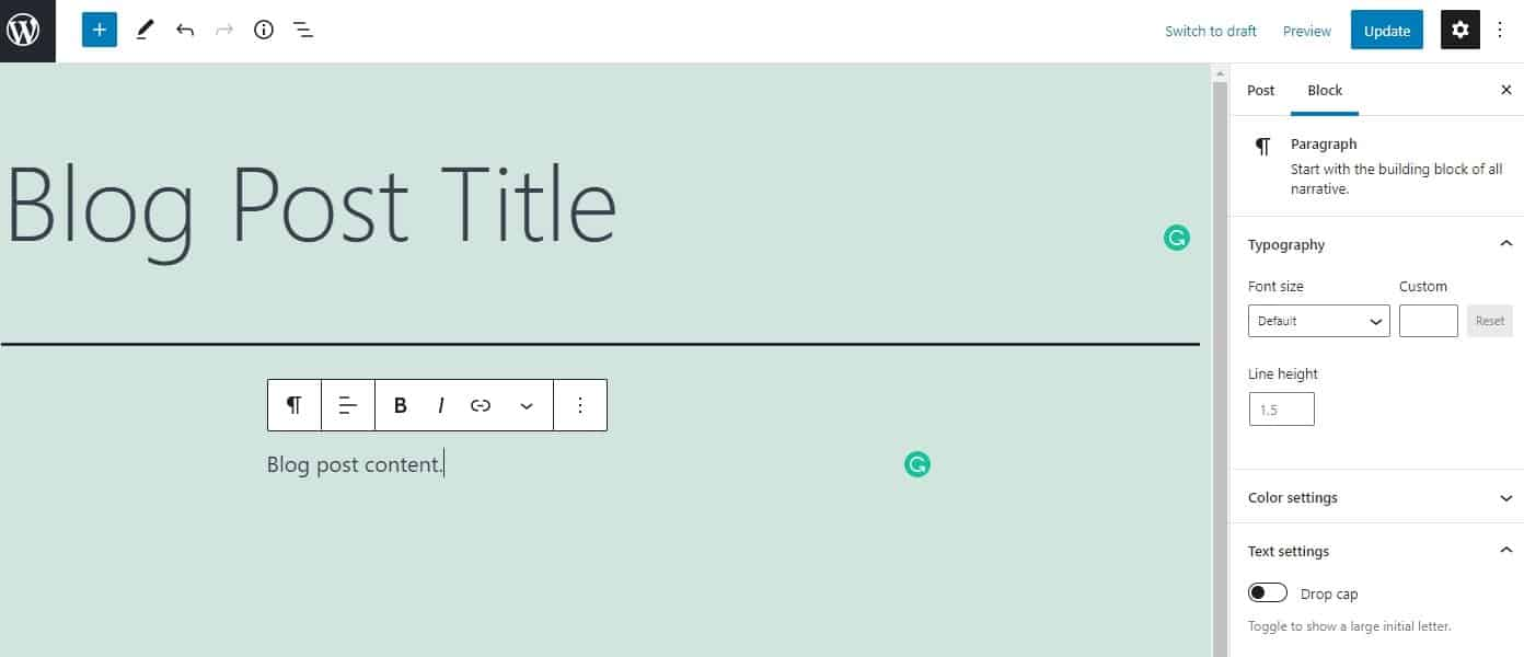 WordPress 向您的博客添加内容