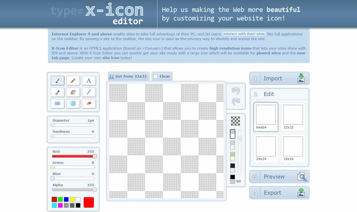 XIcon favicon generator